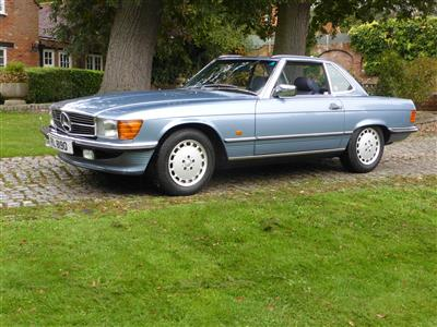1989 Mercedes Benz 300 SL Roadster